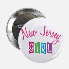 """NEW JERSEY GIRL! 2.25"""" Button (10 pack)"""