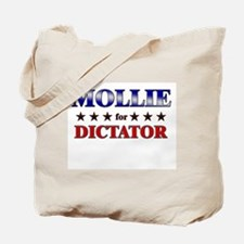 MOLLIE for dictator Tote Bag