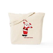 Cute Santaclaus Tote Bag