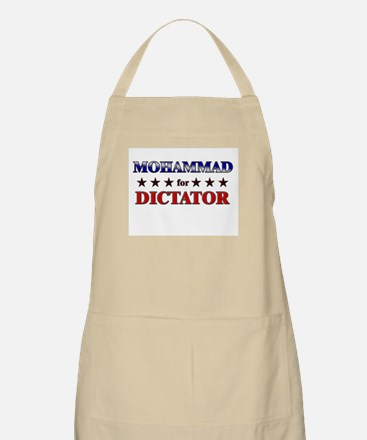 MOHAMMAD for dictator BBQ Apron