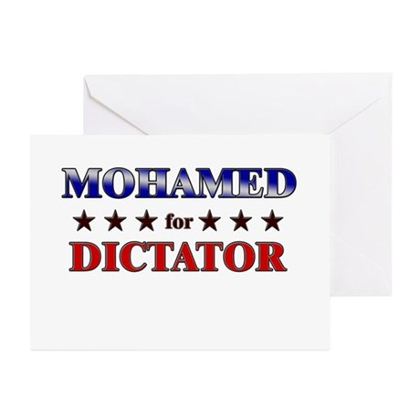 MOHAMED for dictator Greeting Cards (Pk of 20)
