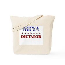 MIYA for dictator Tote Bag