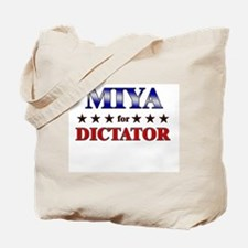 MIYA for dictator Tote Bag