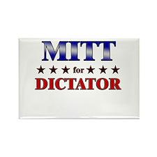 MITT for dictator Rectangle Magnet