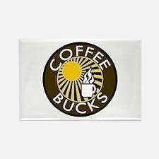 Coffee Bucks Rectangle Magnet