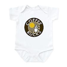 Coffee Bucks Infant Bodysuit