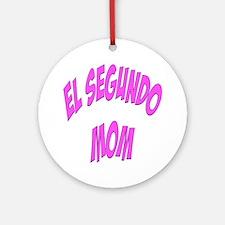 El Segundo Mom Ornament (Round)