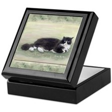 Julio the Cat Keepsake Box
