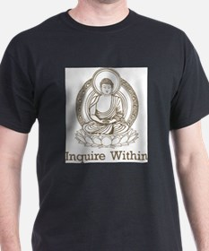 Vintage Buddha Inquire Within T-Shirt