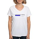 Loading Snappy Comeback Women's V-Neck T-Shirt
