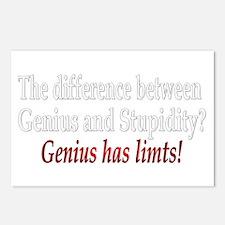 Genius Postcards (Package of 8)