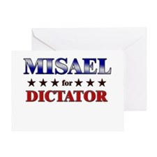 MISAEL for dictator Greeting Card