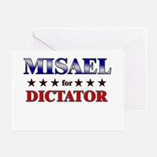 MISAEL for dictator Greeting Card
