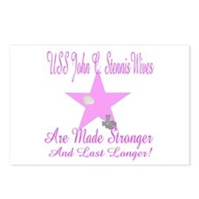 uss john c stennis wives Postcards (Package of 8)