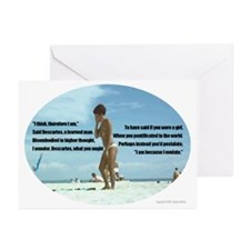 Descartes' Meditations Greeting Cards (Package of