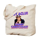 Merry Christmas ACLU Tote Bag