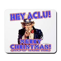 Merry Christmas ACLU Mousepad