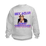 Merry Christmas ACLU Kids Sweatshirt