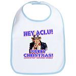 Merry Christmas ACLU Bib