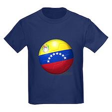 Venezuela Flag Soccer Ball T