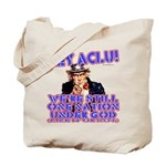 Under God Anti-ACLU Tote Bag