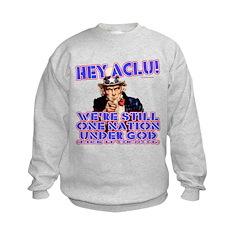Under God Anti-ACLU Sweatshirt