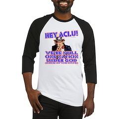 Under God Anti-ACLU Baseball Jersey