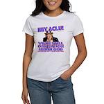 Under God Anti-ACLU Women's T-Shirt