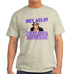 Under God Anti-ACLU Light T-Shirt