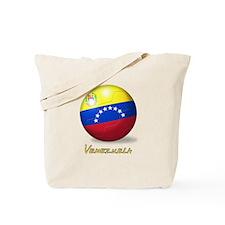 Venezuelan Flag Soccer Ball Tote Bag
