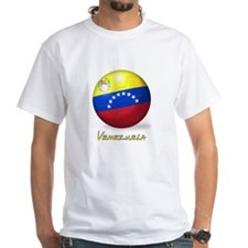 Venezuelan Flag Soccer Ball Shirt