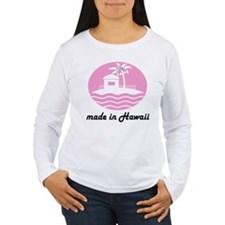 Made In HAWAII pink T-Shirt