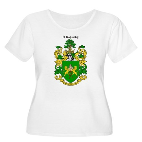Reilly Coat of Arms Women's Plus Size Scoop Neck T