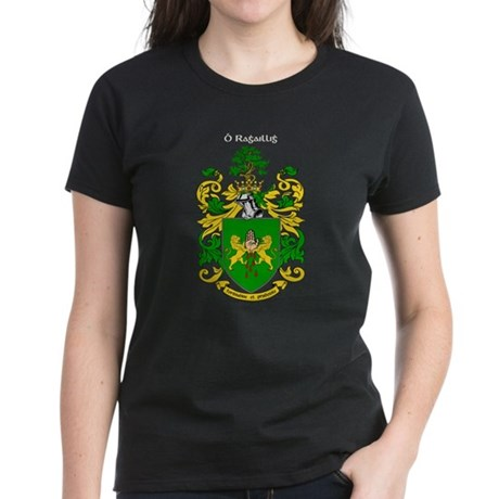 Reilly Coat of Arms Women's Dark T-Shirt