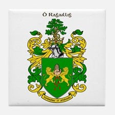 Reilly Coat of Arms Tile Coaster