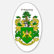 Reilly Coat of Arms Oval Decal