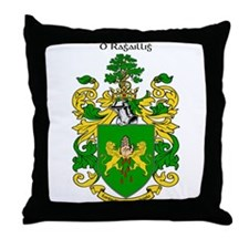 Reilly Coat of Arms Throw Pillow