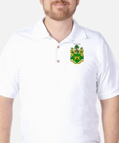 Reilly Coat of Arms Golf Shirt