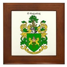 Reilly Coat of Arms Framed Tile