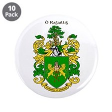 """Reilly Coat of Arms 3.5"""" Button (10 pack)"""