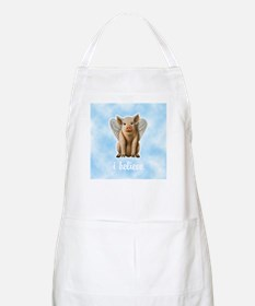 I Believe Flying Pig BBQ Apron