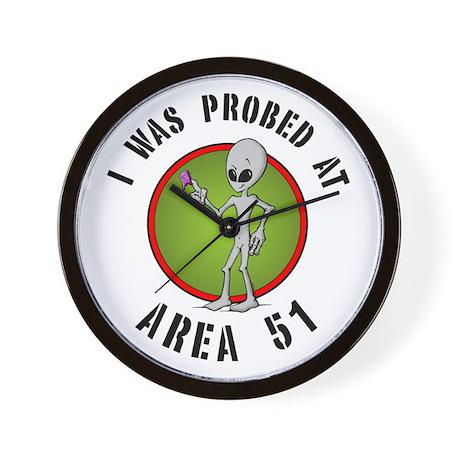 Alien Probe Wall Clock