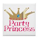 Party Princess Tile Coaster
