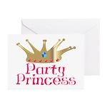 Party Princess Greeting Cards (Pk of 20)