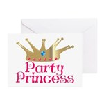 Party Princess Greeting Cards (Pk of 10)