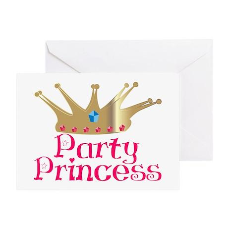 Party Princess Greeting Card