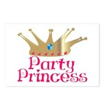 Party Princess Postcards (Package of 8)