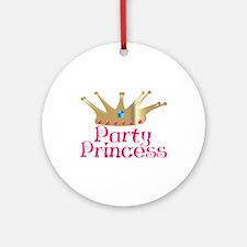 Party Princess Ornament (Round)