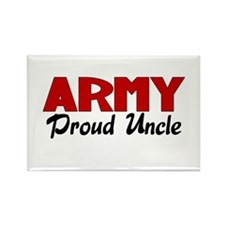 Army Uncle (red) Rectangle Magnet