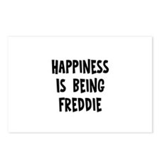 Happiness is being Freddie Postcards (Package of 8
